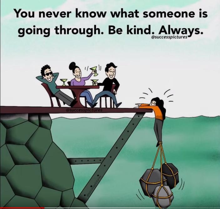 Be kind - meme