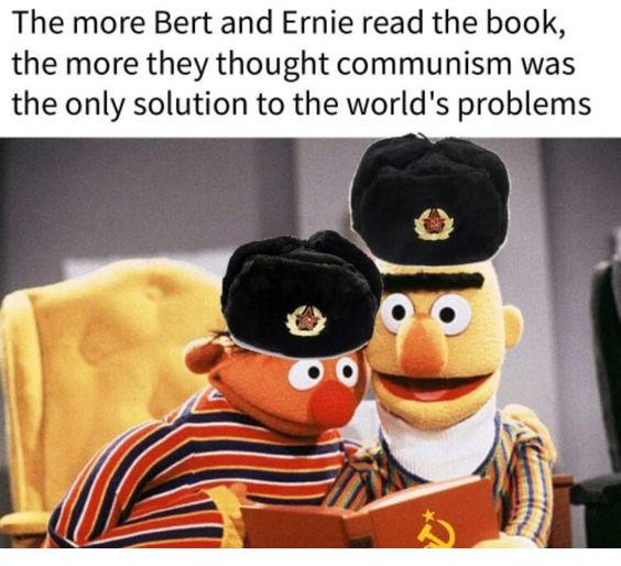 Those damn commies - meme
