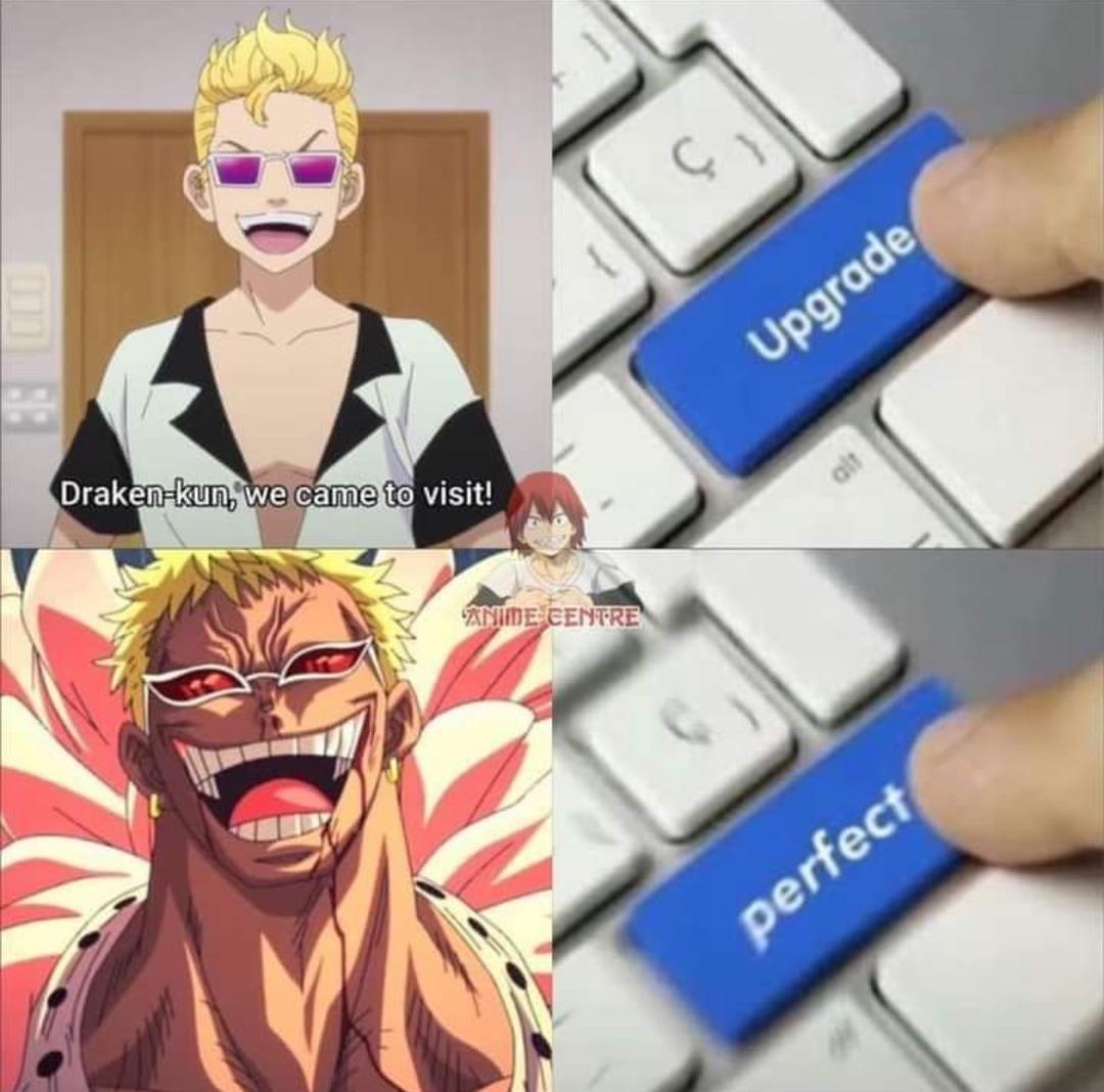 One piece / Tokyo revengers - meme