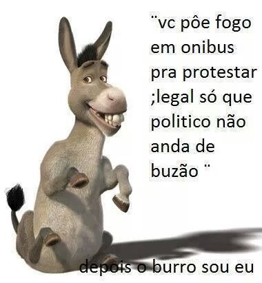 O burro - meme
