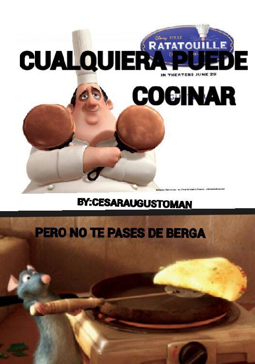 Ratatullie Meme By Cesaraugustoman Cmc Memedroid