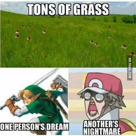 Grassy-ass - meme