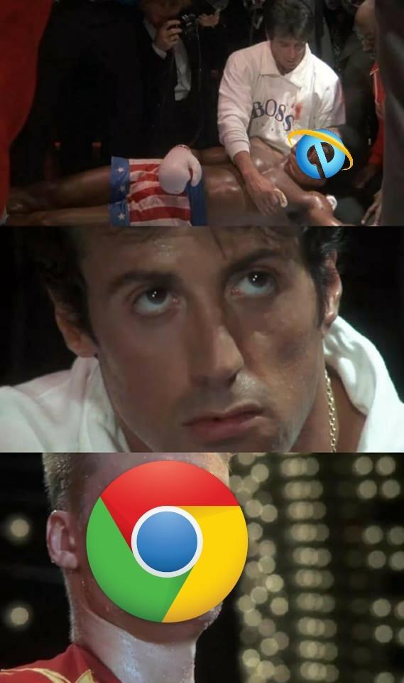 Chrome - meme