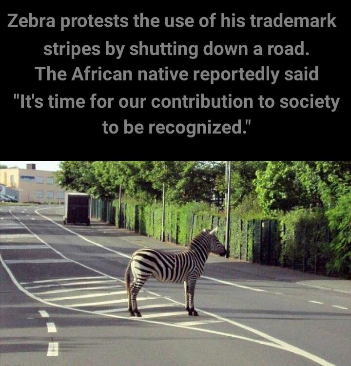 Trademark protest - meme