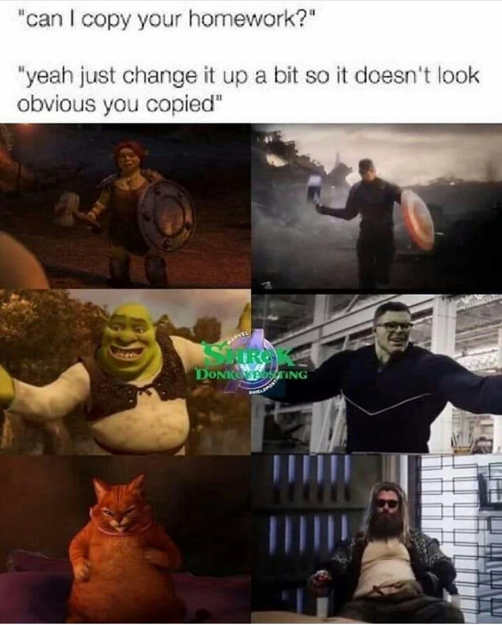 Unoriginal content - meme