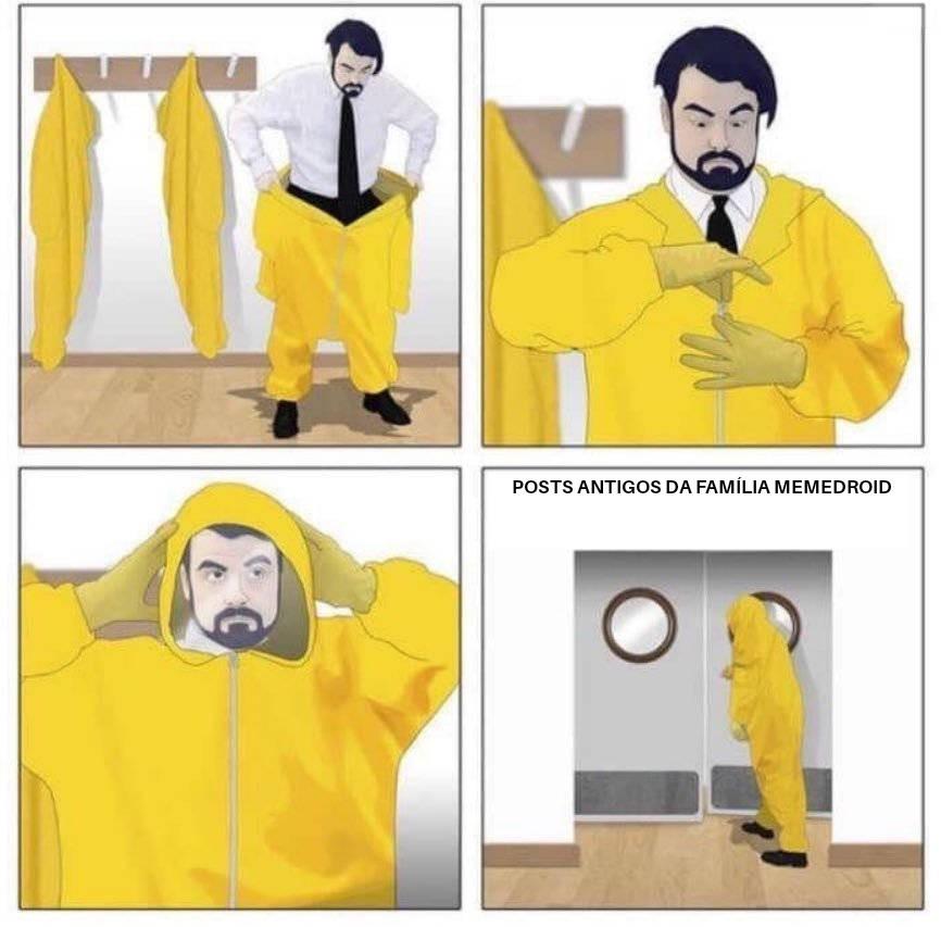 Uma época que os users se recusam em mencionar - meme