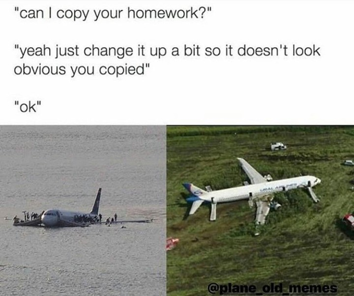Memes de aviação hehe
