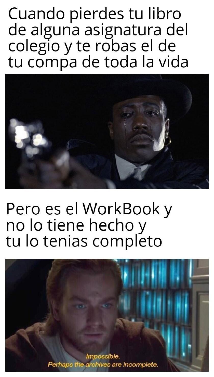 Workbook... - meme