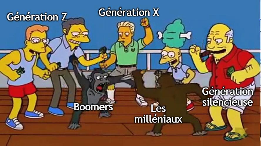 Conflit générationnel - meme