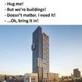 Somehow hug me Miss. Gay