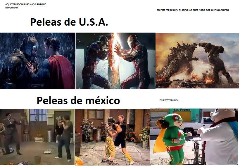 USA VS MEXICO - meme