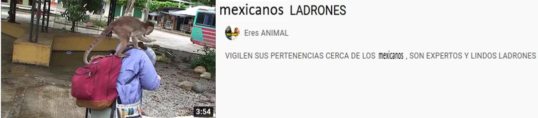 mexicanos ladrones - meme