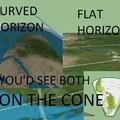 I swear to god I'm not a flat earther