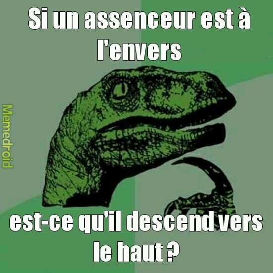 La question existentielle #3 - meme