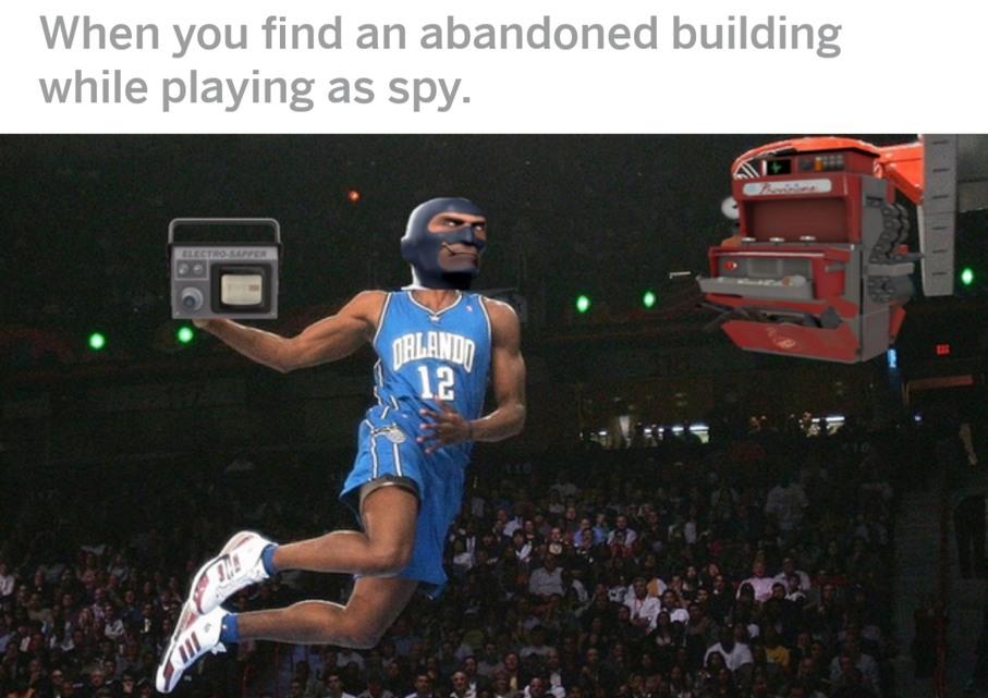 Spy sappin my sentreh - meme