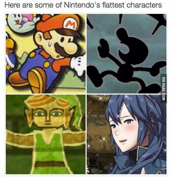also Lady Bow - meme
