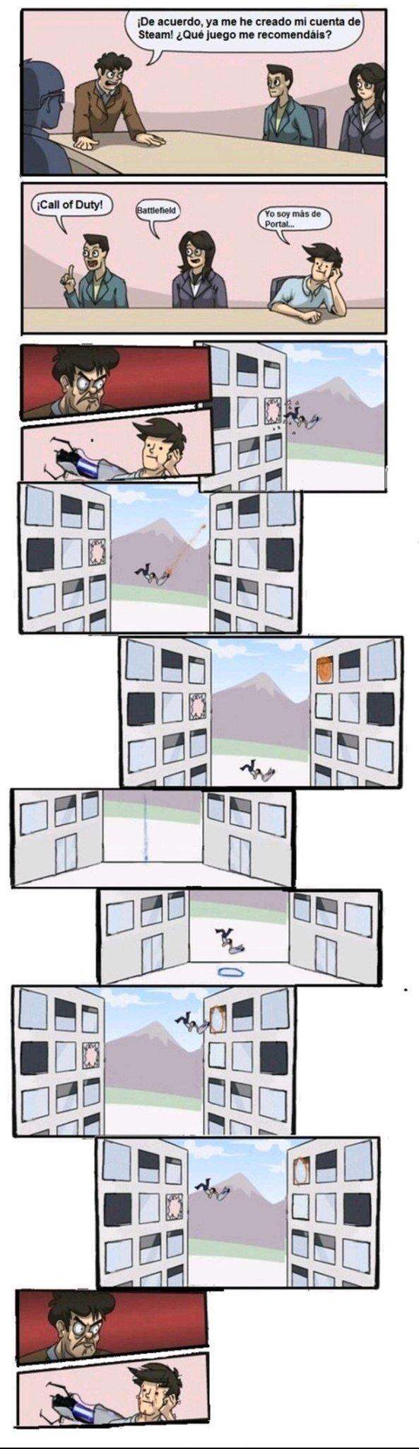 Me encanta portal - meme
