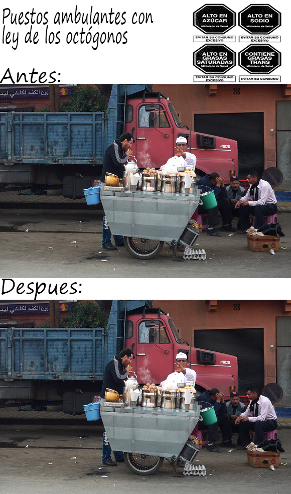 Ley aplicada en Perú - meme