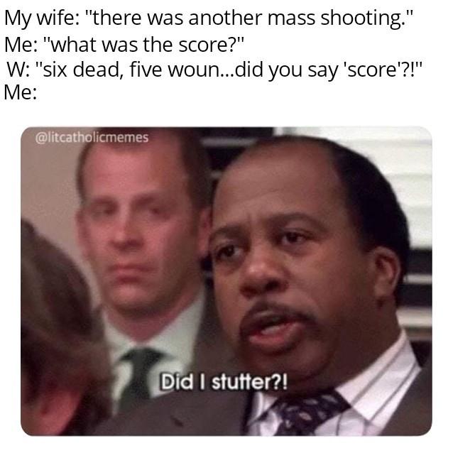 Six? Pffft...pathetic - meme