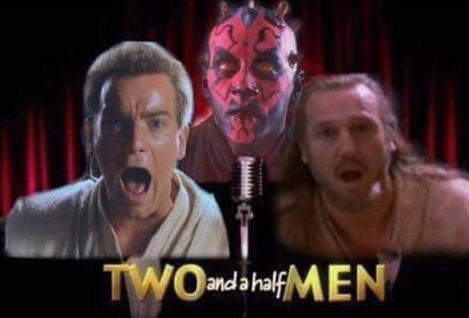 Dois homens e meio - meme