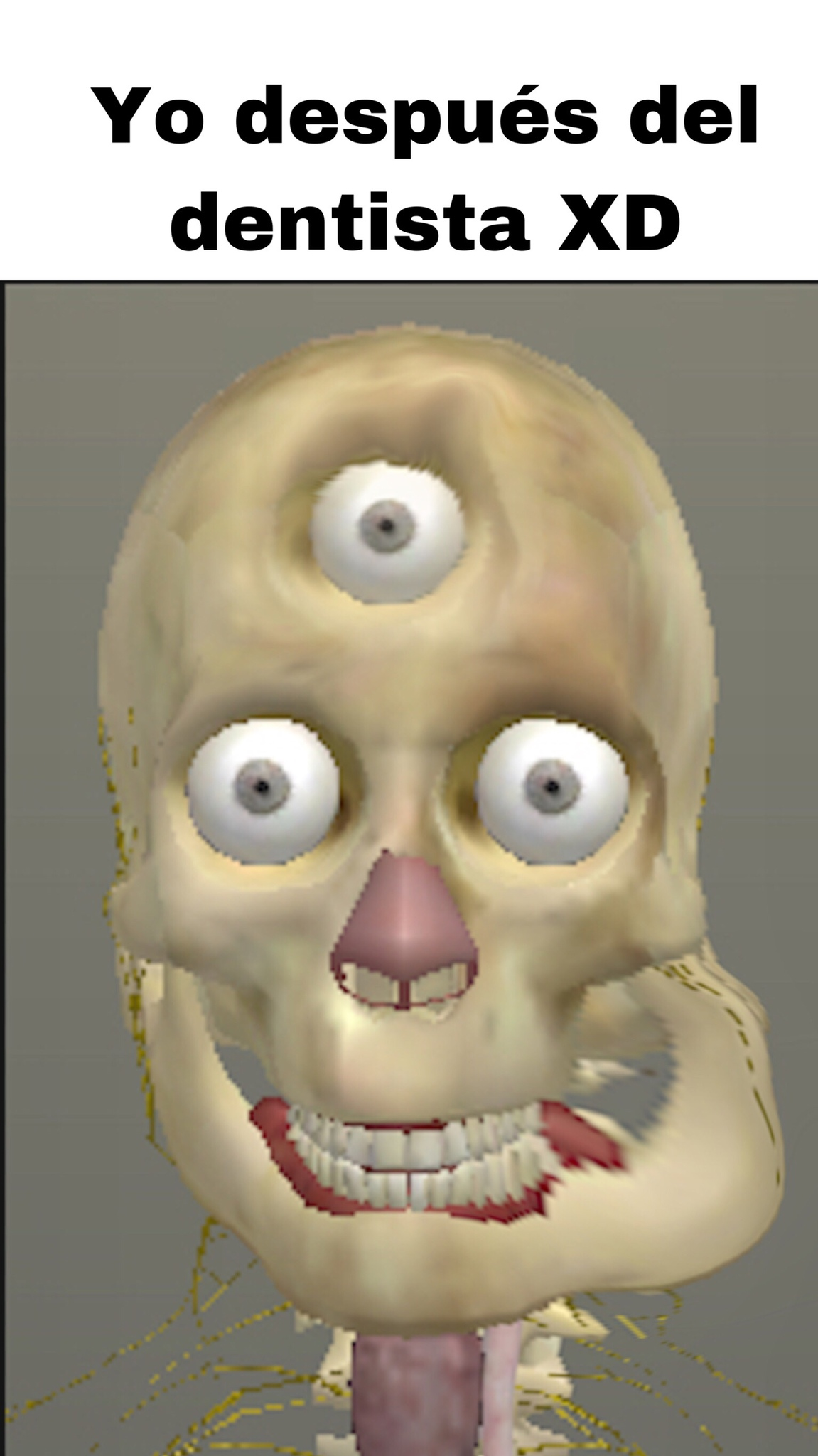 no miren el tercer ojo - meme