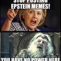 Go away Hillary