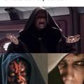 *Rie en Lord Sith*