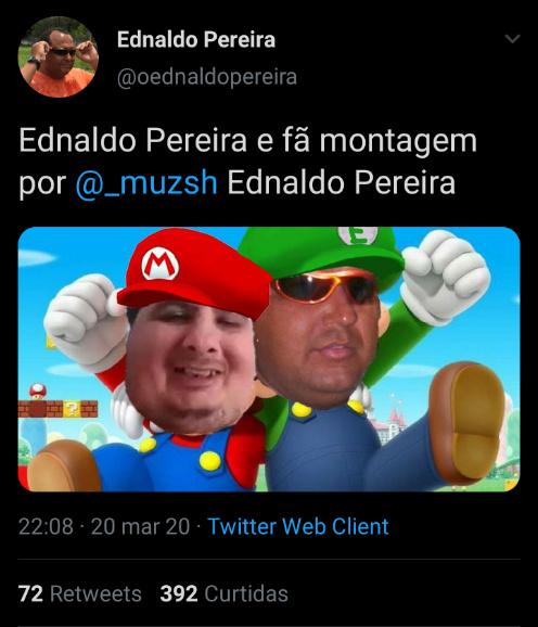 Nem o Mario Games gosta de toppers - meme