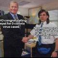 Nepal n fez nenhum teste de corona vírus