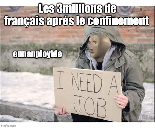 chômage - meme