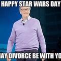 bill gates is getting a divorce ha