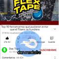 XDDDD la Flex tape
