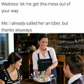 Call her a Uber
