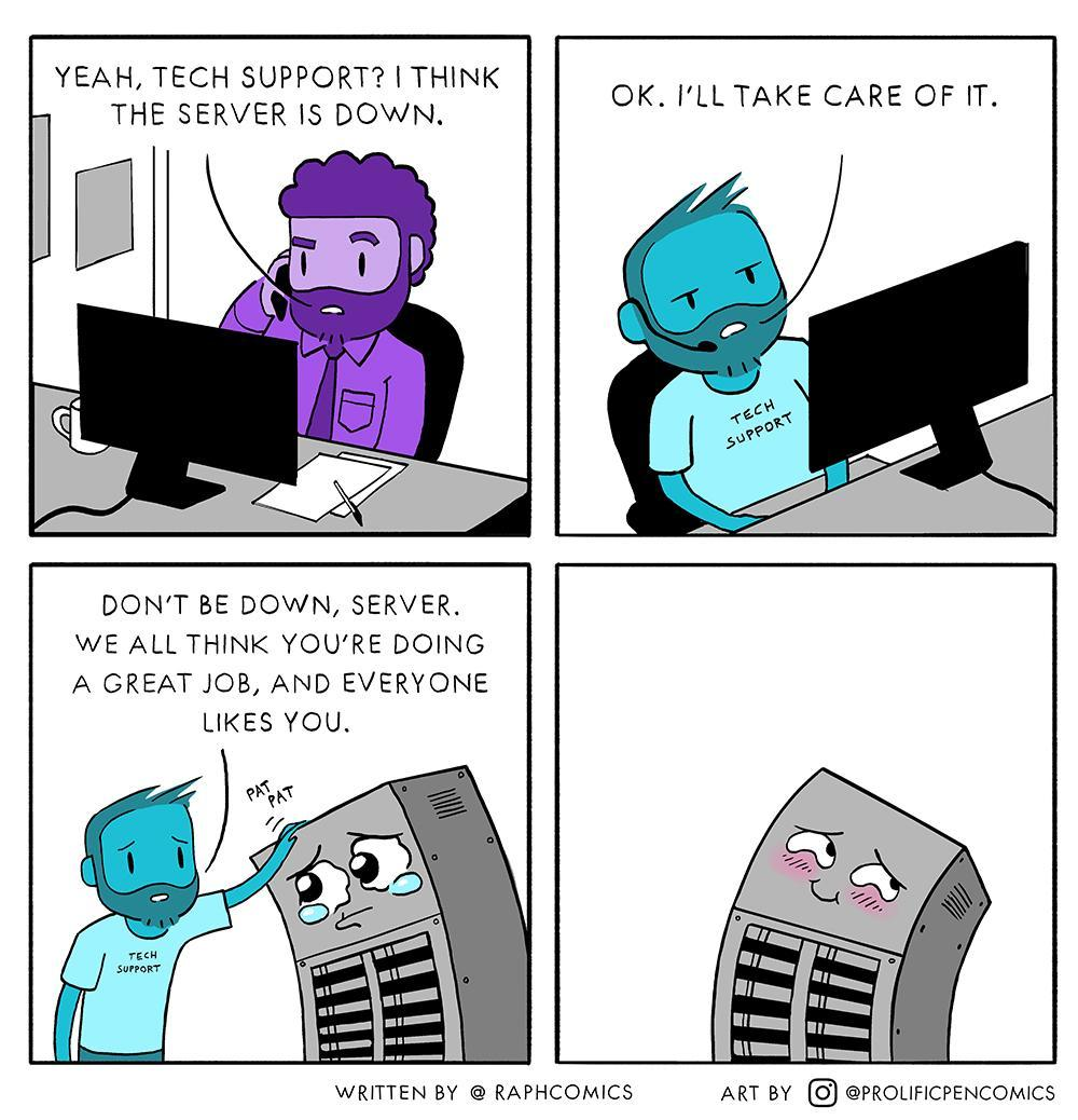 Wholesome techsupport - meme