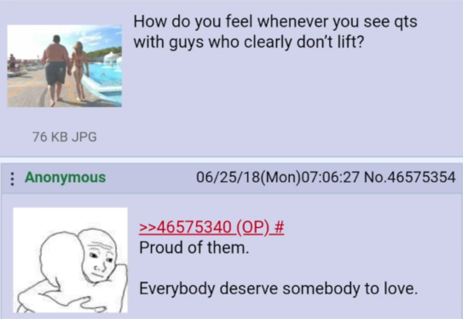 4chan being non-edgy - meme