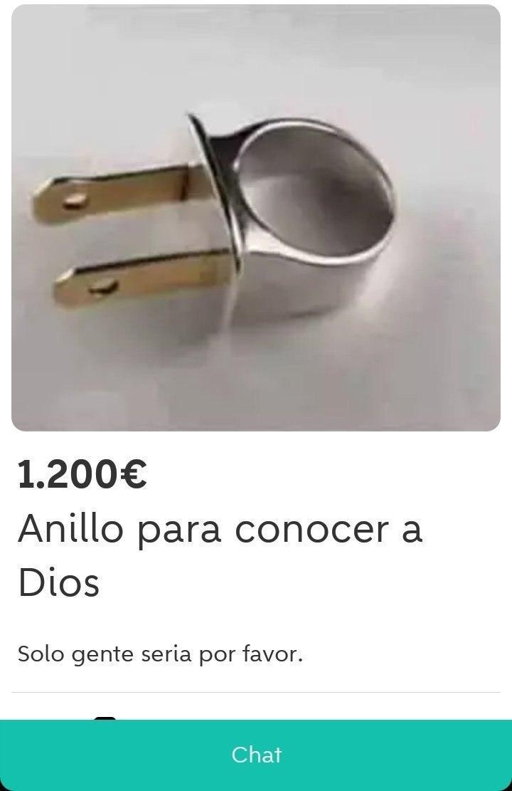 Anillo - meme