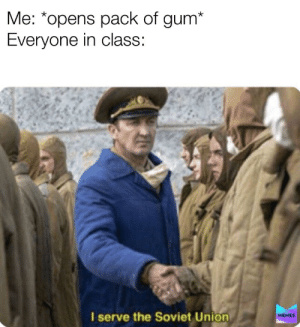 can I have some gum please - meme