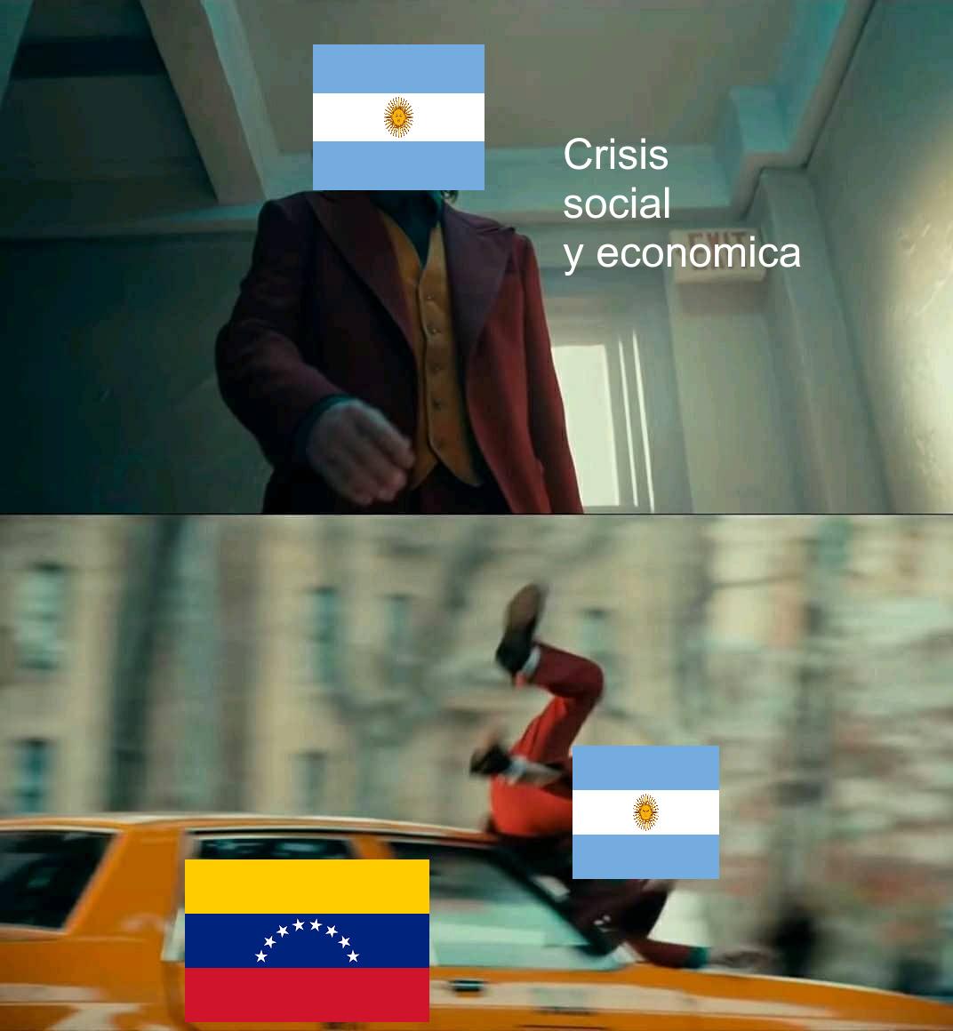 Argentina y Venezuela - meme