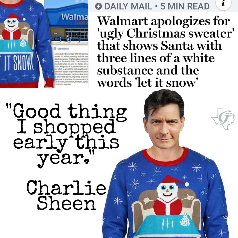 Ultimate Christmas sweater - meme