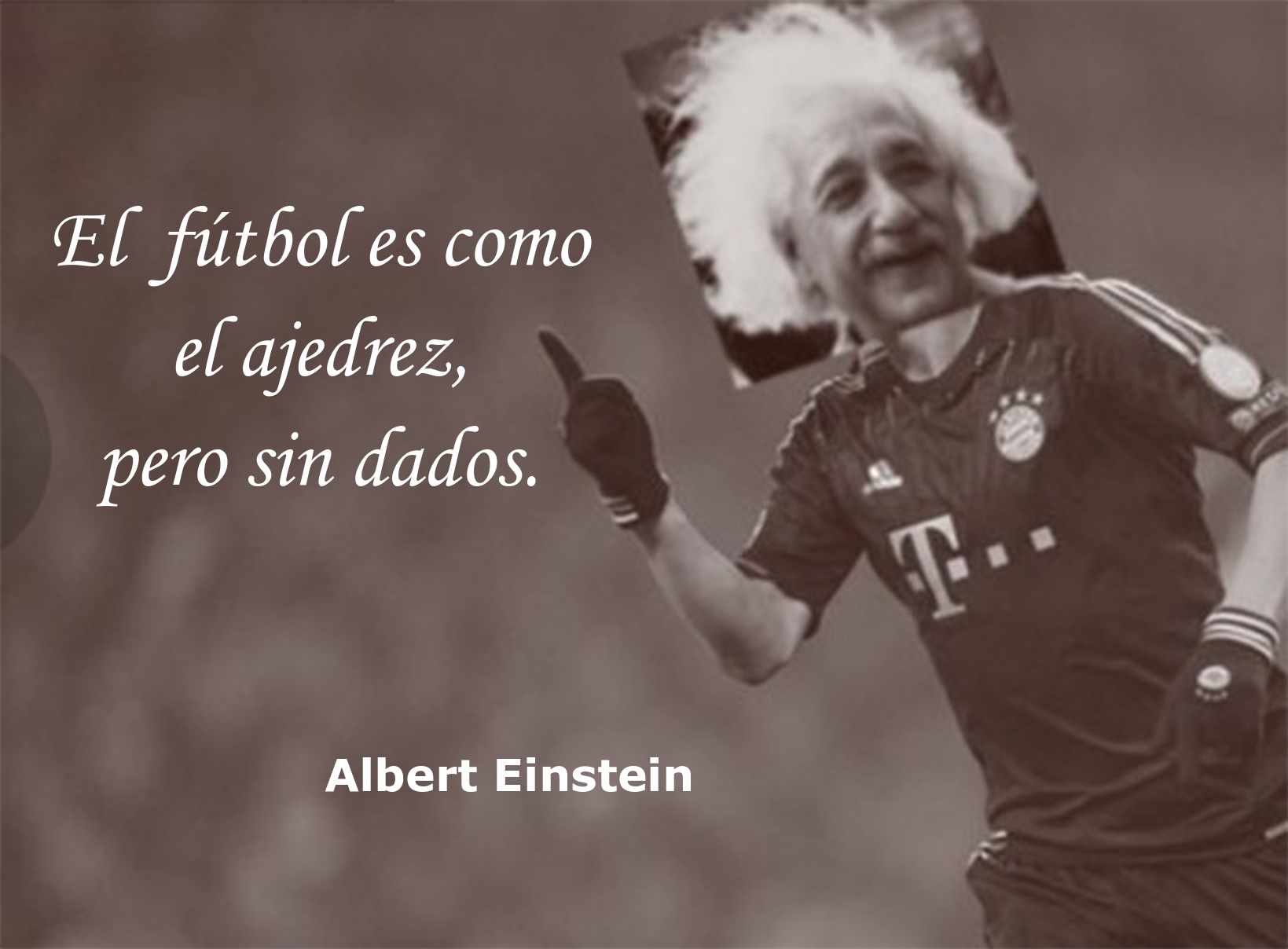 Imaganes de Einstein con frases que nunca dijo - meme
