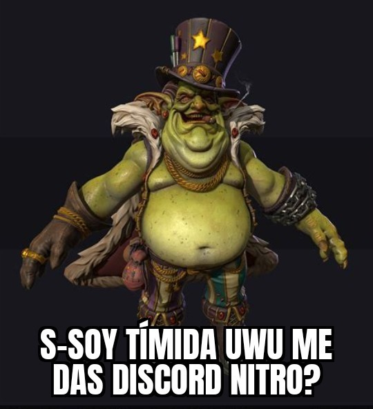 """mujeres"" de discord be like - meme"