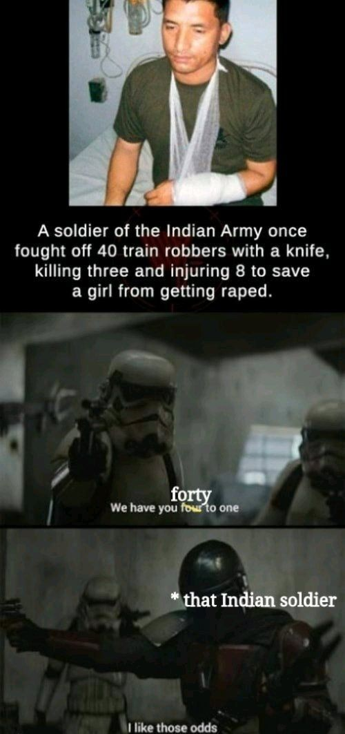One man army - meme