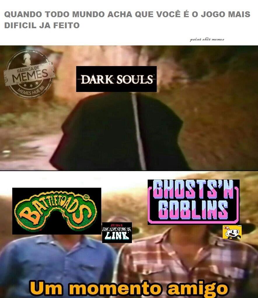 os jogos de baixo se alimentam das suas lágrimas - meme