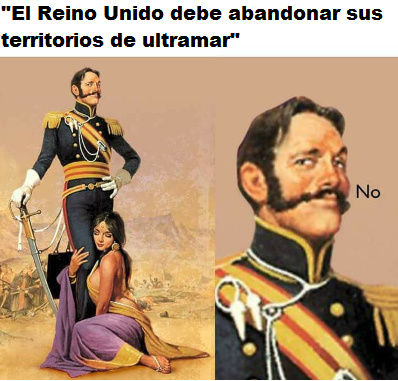 Las Malvinas uruguayas - meme