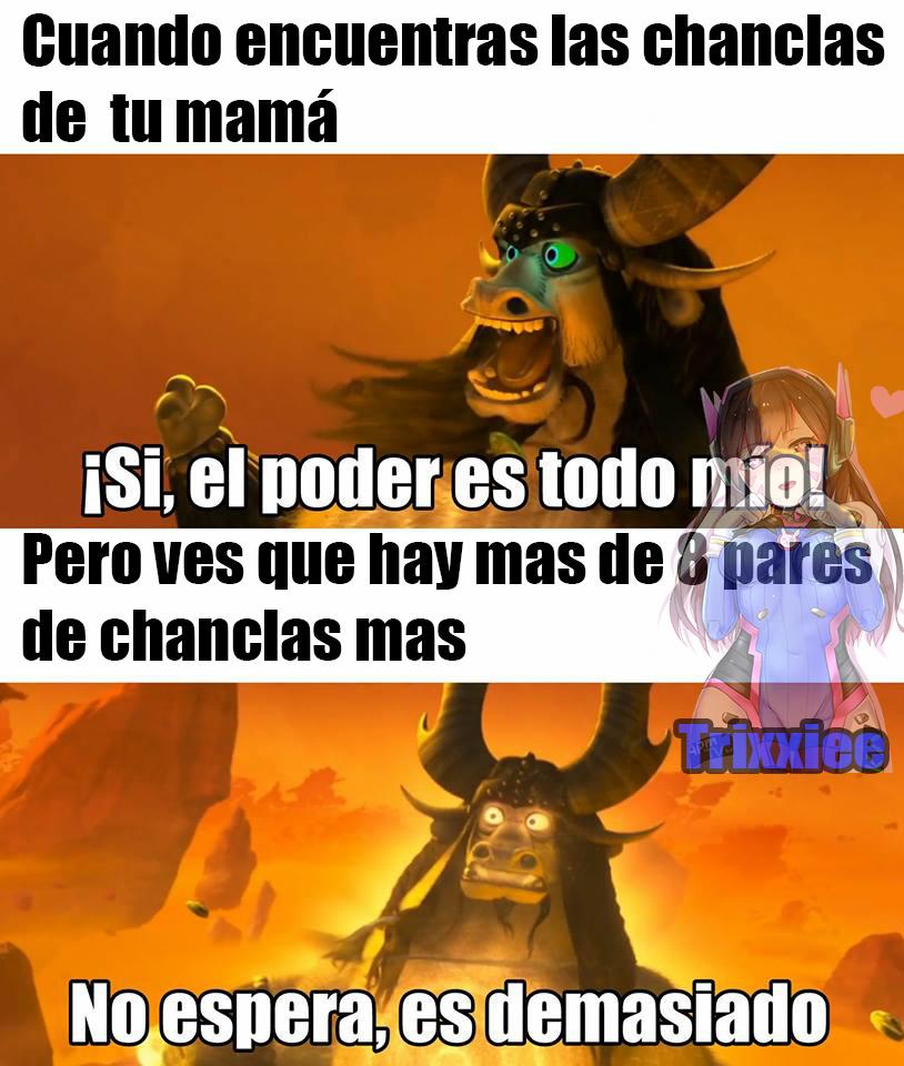 El poder total Dx - meme