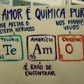 O amor é quimica pura