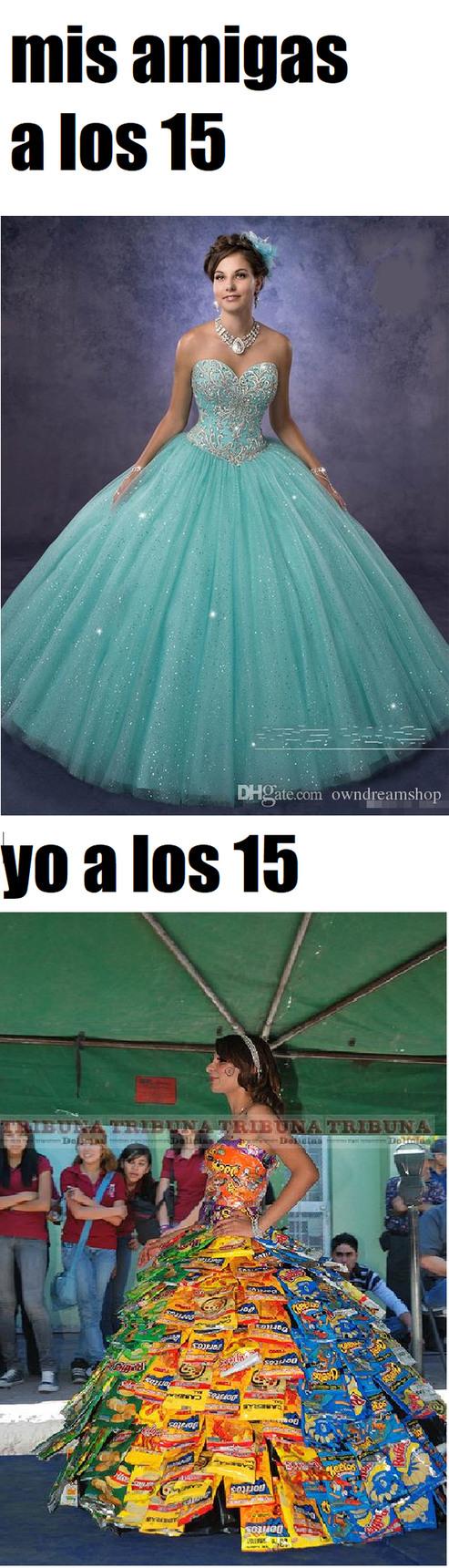 los 15 - meme
