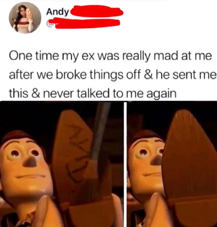 That's gotta hurt. - meme