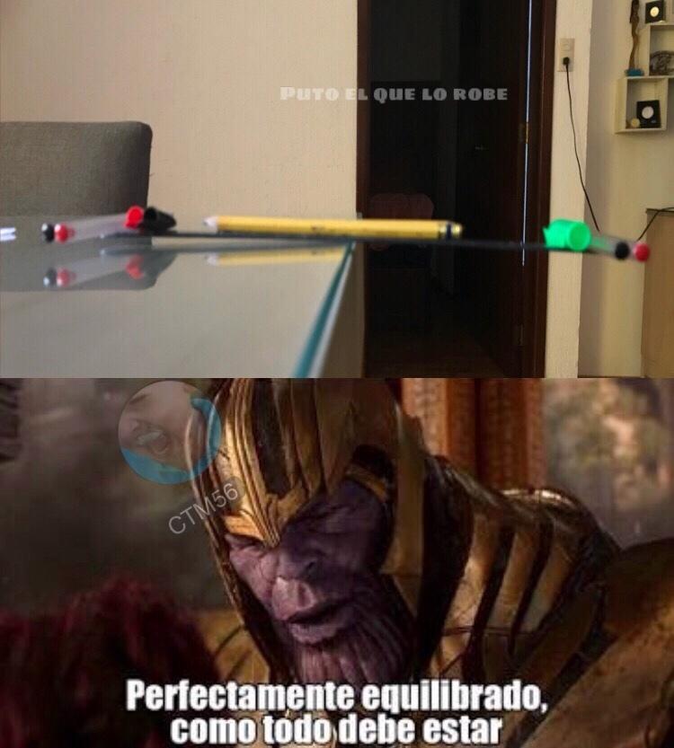 son dos lápices - meme