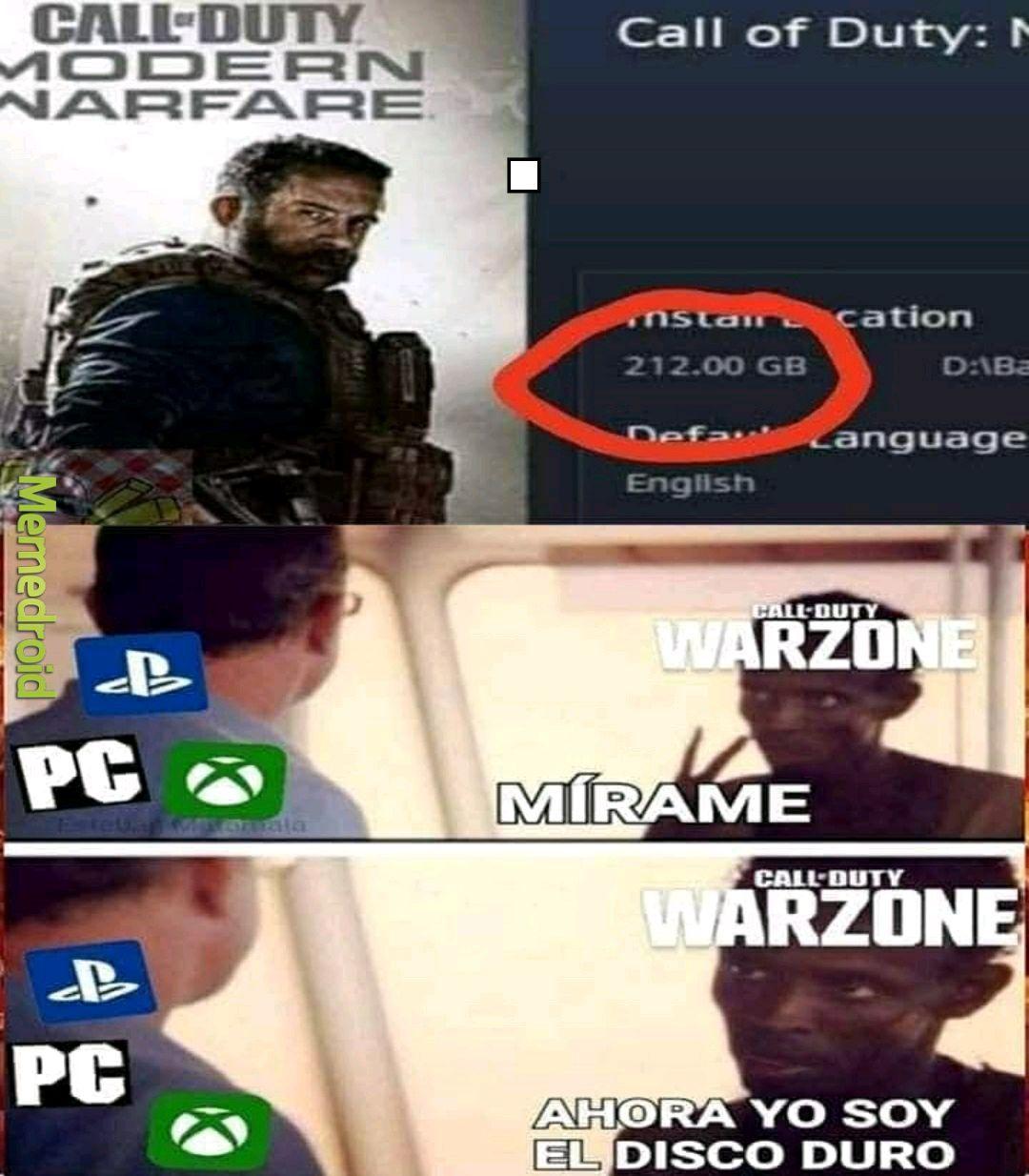 Ta pesadito el juego - meme